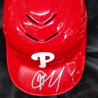 Philadelphia Phillies JP Crawford Autographed Batting Helmet