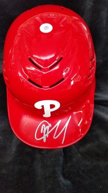 Philadelphia Phillies JP Crawford Autographed Batting Helmet