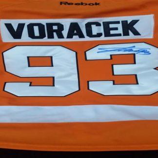 Philadelphia Flyers Jakub Voracek Autographed Jersey