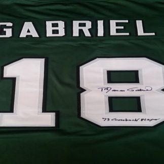 Philadelphia Eagles Roman Gabriel Autographed Jersey