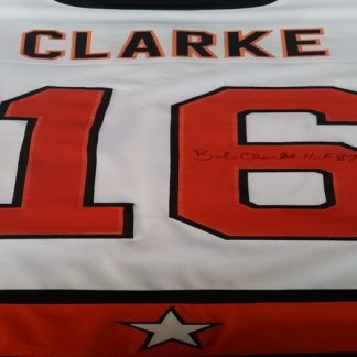 Philadelphia Flyers Bob Clarke Autographed All Star Jersey