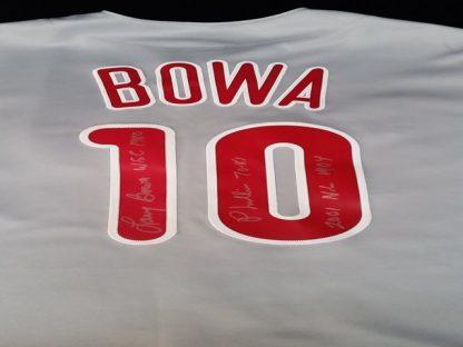 Philadelphia Phillies Larry Bowa Autographed jersey