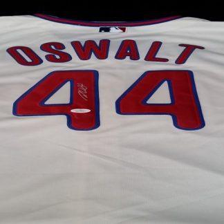 Philadelphia Phillies Roy Oswalt Autographed jersey