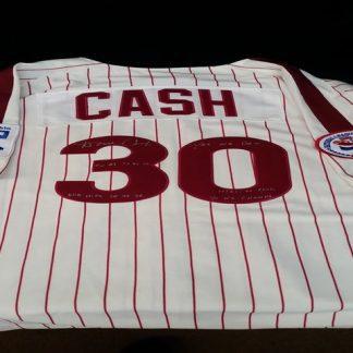 Philadelphia Phillies Dave Cash Autographed Jersey