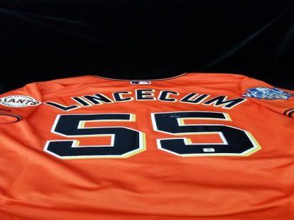 San Francisco Giants Tim Lincecum Autographed Jersey