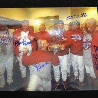 2008 WSC Coaches Autographed Photo