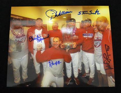2008 WSC Coaches Autographed Photo