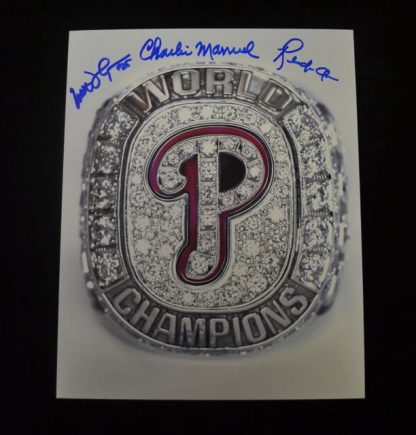 2008 WSC Ring Autographed Photo