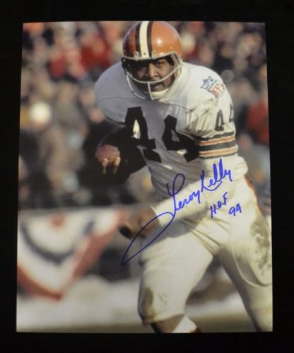 Cleveland Browns Leroy Kelly Autographed Photo