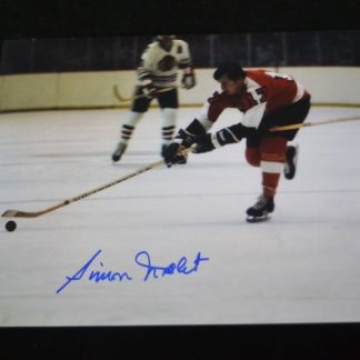 Philadelphia Flyers Simon Nolet Autographed Photo