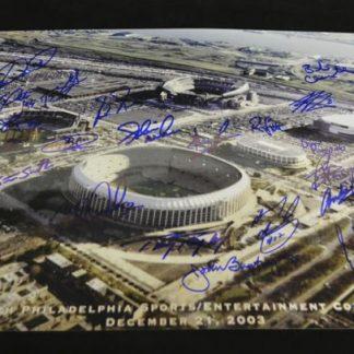 Philadelphia Phillies, Flyers & Eagles Multi Autographed Photo