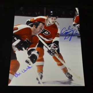 Philadelphia Flyers Van Impe & Dupont Autographed Photo