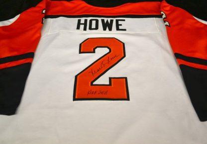 Philadelphia Flyers Mark Howe Autographed Jersey