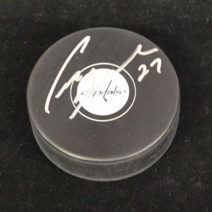 Washington Capitals Craig Berube Autographed Puck