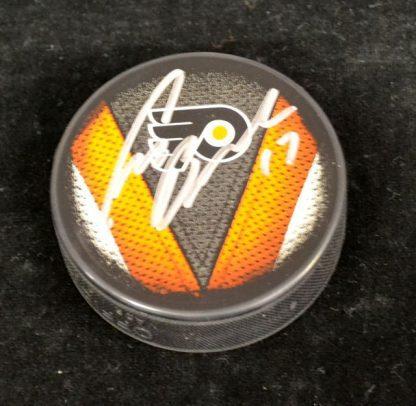 Philadelphia Flyers Craig Berube Autographed Puck