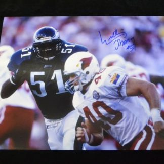 "Philadelphia Eagles ""Willie T"" Thomas Autographed Photo"