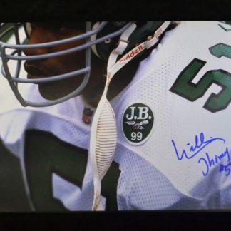 "Philadelphia Eagles ""Willie T"" Thomas Autographed Photo"