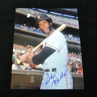 San Francisco Giants Garry Maddox Autographed Photo