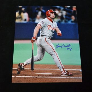 Philadelphia Phillies Lenny Dykstra Autographed Photo