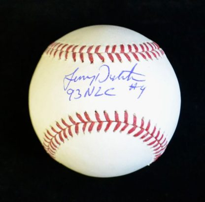 Philadelphia Phillies Lenny Dykstra Autographed Baseball