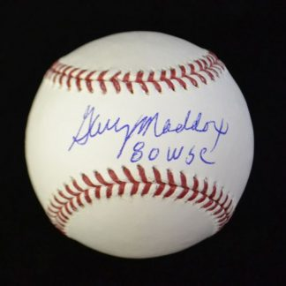 Philadelphia Phillies Garry Maddox Autographed Baseball