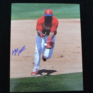 Philadelphia Phillies Maikel Franco Autographed Photo