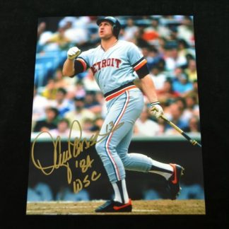 Detroit Tigers Lance Parrish Autographed Photo