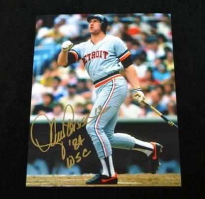 Detroit Tigers Lance Parrish Autographed Photo