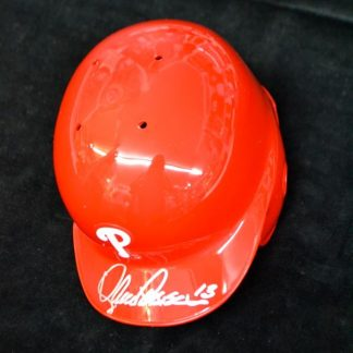 Philadelphia Phillies Lance Parrish Autographed Mini Helmet