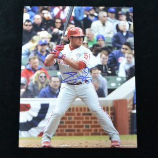 Philadelphia Phillies Carlos Ruiz Autographed Photo
