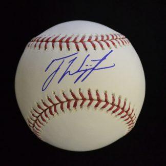 Philadelphia Phillies Ty Wigginton Autographed Baseball