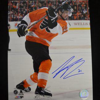 Philadelphia Flyers Scott Laughton Autographed Photo