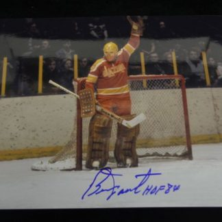 Philadelphia Blazers Bernie Parent Autographed Photo