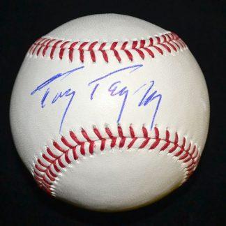 Philadelphia Phillies Tony Taylor Autographed Baseball