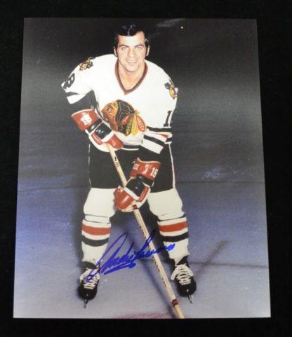 Chicago Blackhawks Andre Lacroix Autographed Photo