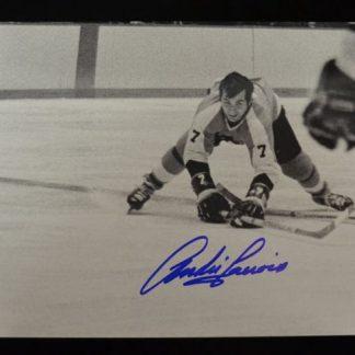 Philadelphia Flyers Andre Lacroix Autographed Photo