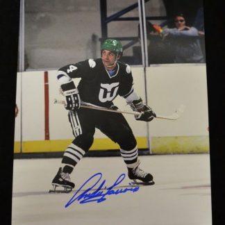 Hartford Whalers Andre Lacroix Autographed Photo