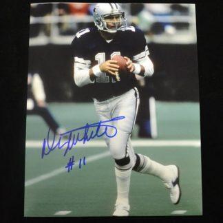 Dallas Cowboys Danny White Autographed Photo
