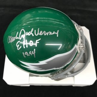 Philadelphia Eagles Dick Vermeil Autographed Mini Helmet