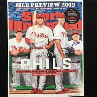 Philadelphia Phillies JT Realmuto Autographed 11 x 14