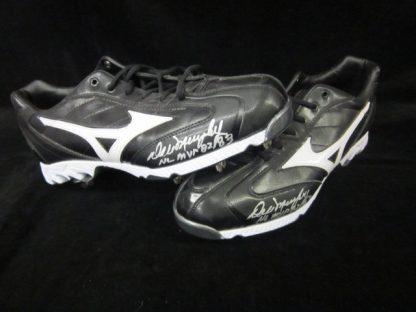 Philadelphia Phillies Dale Murphy Autographed Cleats