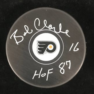 Philadelphia Flyers Bobby Clarke Autographed Puck