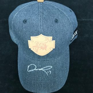 Reading Phillies Darick Hall Autographed Hat