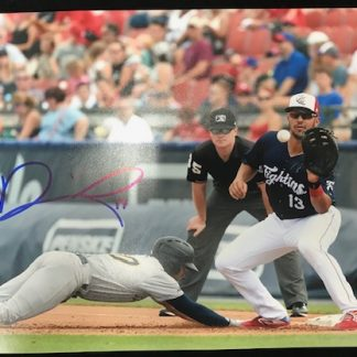 Reading Phillies Darick Hall Autographed 8 x 10