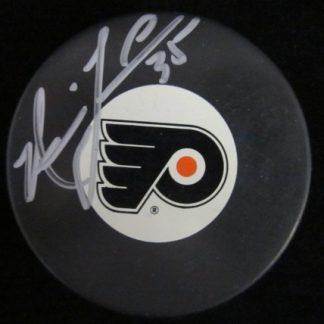 Philadelphia Flyers Neil Little Autographed Puck