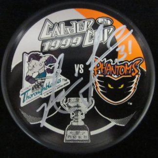 Philadelphia Phantoms Neil Little Autographed Puck