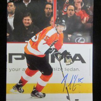 Philadelphia Flyers Tye McGinn Autographed Photo