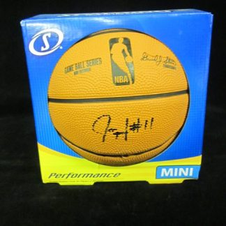 Philadelphia 76ers Jrue Holiday Autographed Mini Basketball