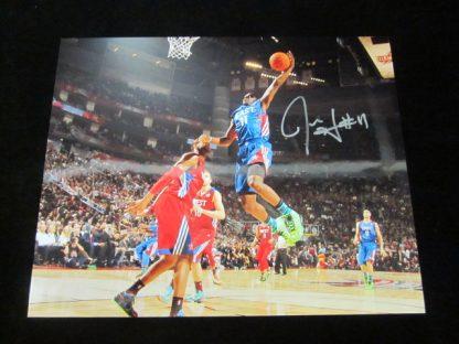 Philadelphia 76ers Jrue Holiday Autographed Photo