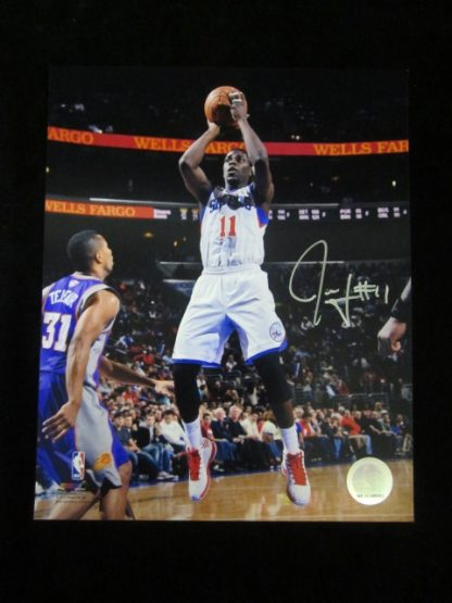 Philadelphia 76ers Jrue Holiday Autographed Photo